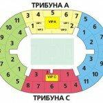 стадион лужники схема 10