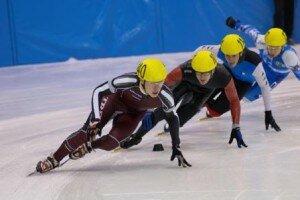 Зимние олимпийские виды спорта - шорт-трек